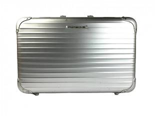 Vintage Porsche Design Rimowa Aluminum Suitcase