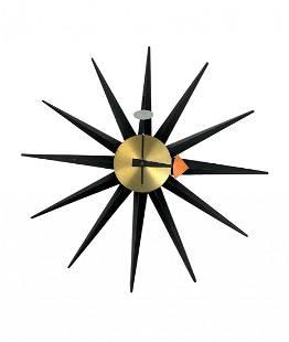 1950's George Nelson Sunburst Clock - Howard Miller