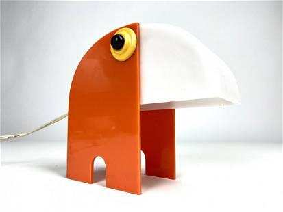 Italian Mod Animal Lamp Old Timer Ferrari Style