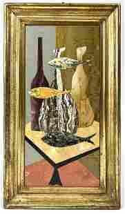 1950's Mauro Bini Pietra Dura Framed Mosaic
