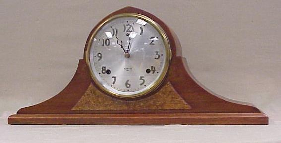 "6: Gilbert, Mantle Clock-Napoleon Design, 9 ½"" Tall"
