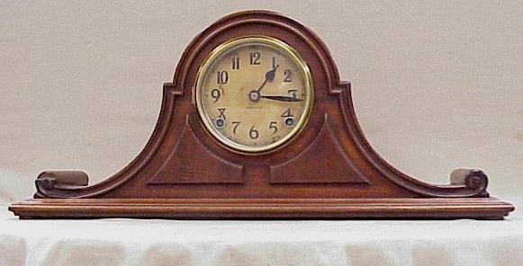 8: Ingraham Mantle Clock-Napoleon Design