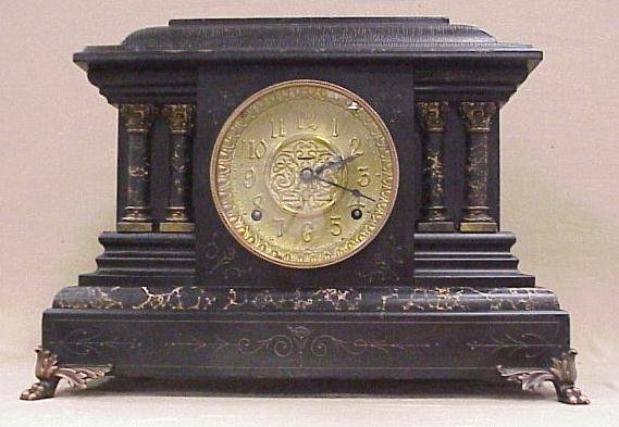 9: Victor American Ringer Company Mantle Clock