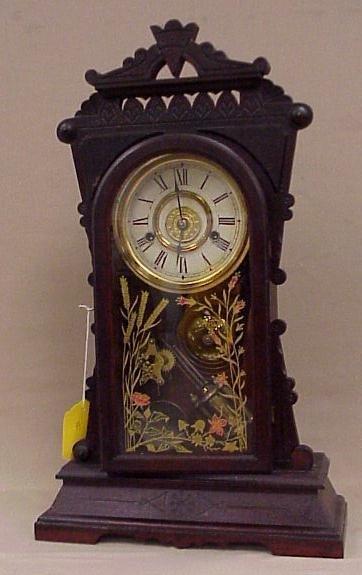 12: New Haven Clock Co. Mersey Design Shelf Clock