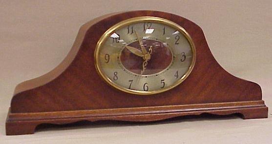 13: Revere Westminster Electric Clock-Napoleon Design