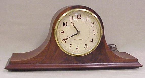 21: Seth Thomas Electric Mantle Clock, Napoleon Design