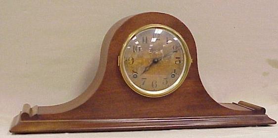 24: Ingraham Mantle Clock, Napoleon Design