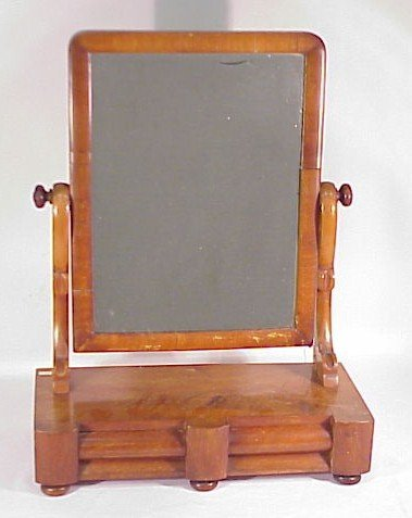 221: Empire Dresser Mirror Circa 1840-1860