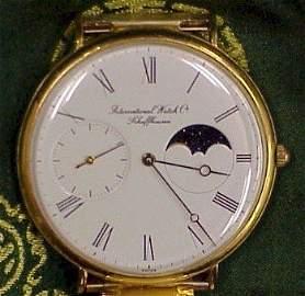 267: IWC Swiss Wrist Watch-Stretch Band