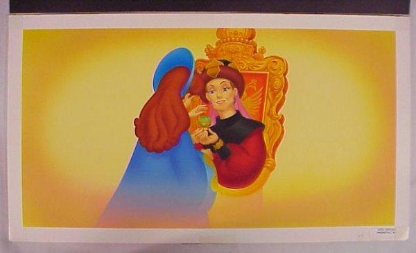 703: Original Art Fantasia Child's Book