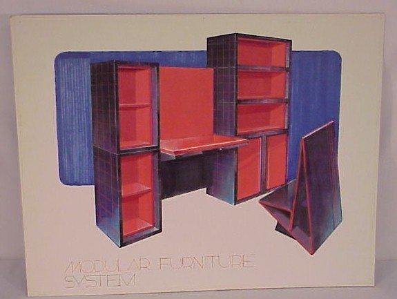 713: Original Artwork Design Modular Furniture System