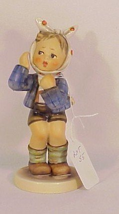 "106: Hummel Figurine ""Boy with Toothache"" #217"