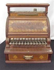 407: Wood National Cash Register circa 1891