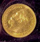 622 1901 Russian 5 Roubles Gold Coin