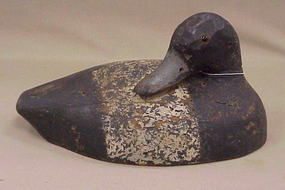 824: Early Wood Duck Decoy-Drake Bluebill
