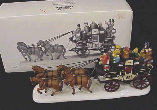 406: MIB-Dept 56 The Holiday Coach