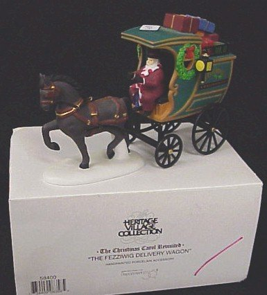 408: MIB-Dept 56 The Fezziwig Delivery Wagon