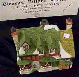 419: Dept 56 Dickens Village R. Marion Scotch Woolens