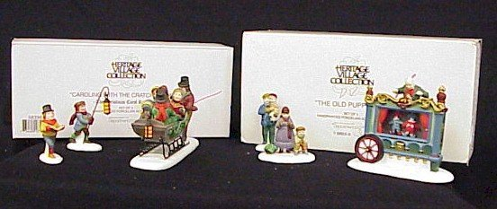 503: Dept 56  Dickens Village Accessories.