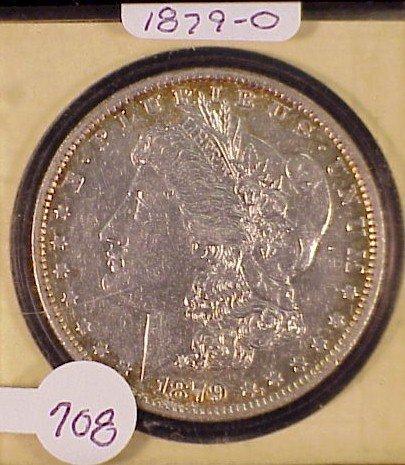 708: 1879-O Morgan Silver Dollar