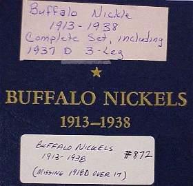 872: Book of Buffalo Nickels