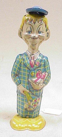 1101: Vtg. Mortimer Snerd Walker Toy-Marx