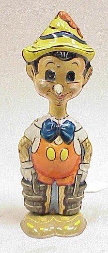 1102: Vtg. Pinocchio Walker Toy w/ Moving Eyes