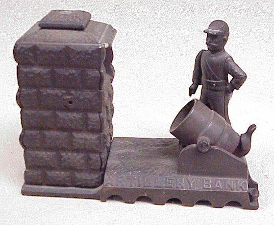 1116: Cast Iron Artillery Bank