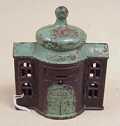 "1123: Vintage ""Presto"" Mechanical Bank"