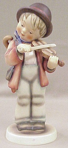 1: Large Hummel Figurine Little Fiddler #2/I