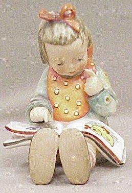 2: Large Hummel Figurine Bookworm #3/I