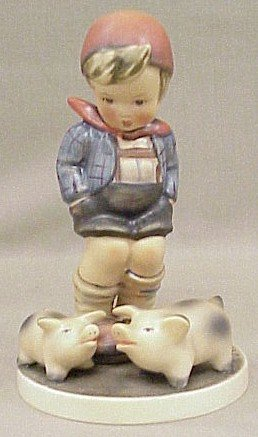 10: Hummel Figurine Farm Boy #66