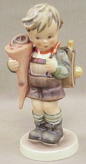 12: Hummel Figurine Little Scholar #80
