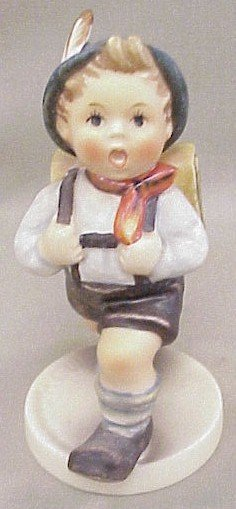 13: Hummel Figurine School Boy #82-2/0