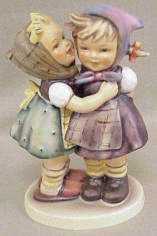 22: Hummel Figurine Telling Her Secret #196/O