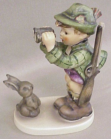 23: Hummel Figurine Good Hunting #307