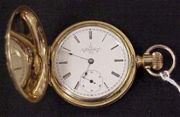 248 Gold Filled Elgin Ladies Pocket Watch