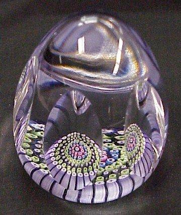 414: Whitefriars Millifiori Glass Paperweight