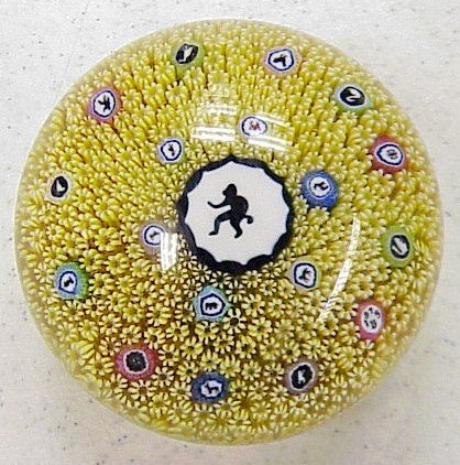 426: Baccarat Gridell Monkey Glass Paperweight