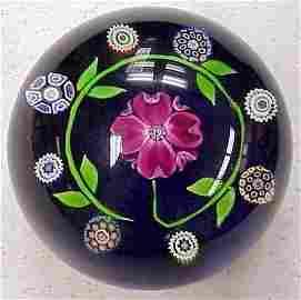 436: Perthshire-Scotland Millifiori-Floral paperweight