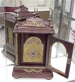 924: Large, Ornate Bracket Mantle Clock-Not working