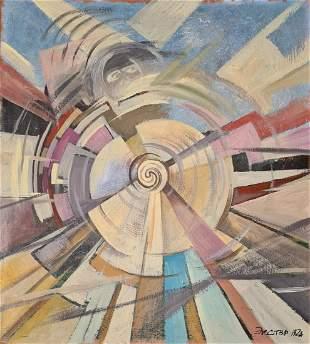 Exter Alexandra Alexandrovna - Composition, 1924
