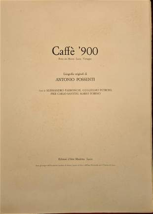 Possenti Antonio - Caffè 900, 1977
