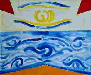 Guidi Virgilio - Elements in motion, 1975