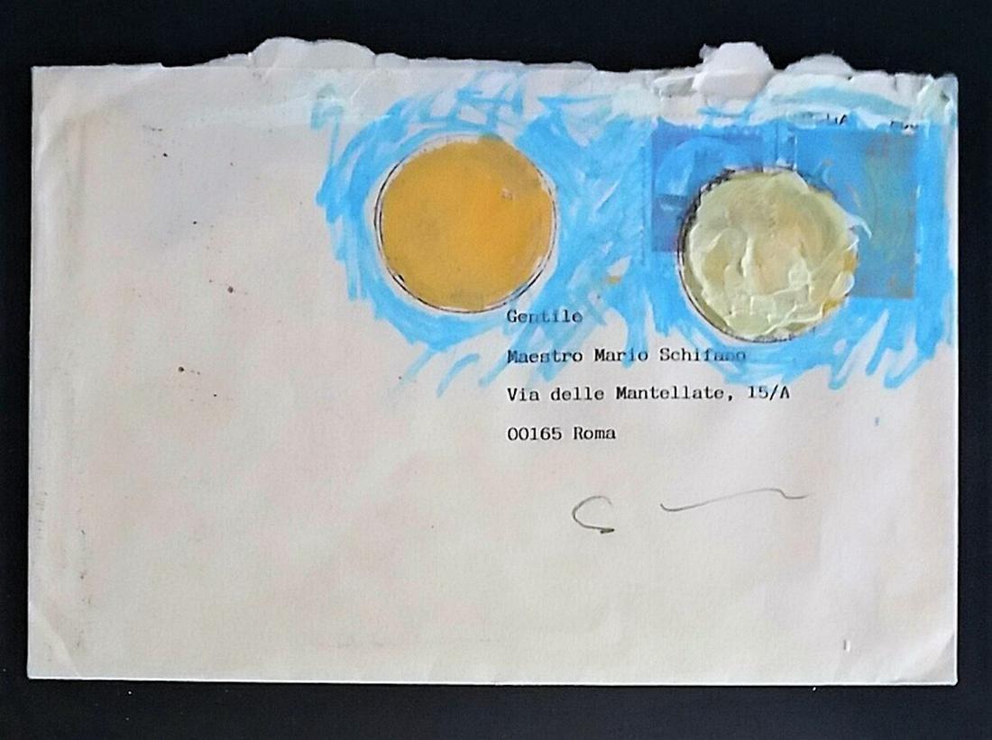 Schifano Mario - Dear Artist Mario Schifano, 1997