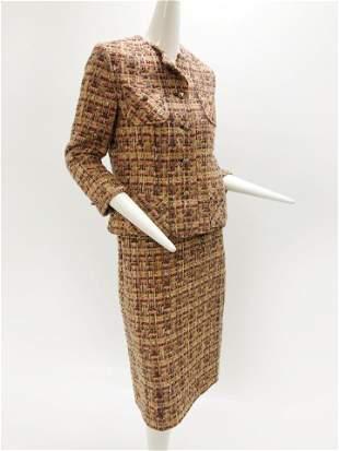 1960 Robert Gates Tweed Skirt Suit
