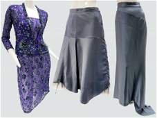 1980 Jenny Lewis 3-piece Ensemble & Vintage Skirts