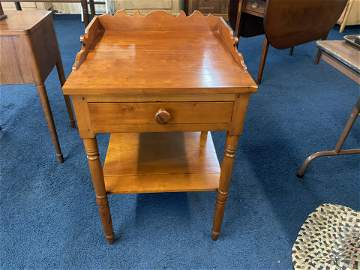 Early Carved Washstand