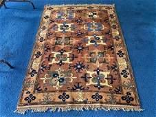Antique Handwoven Oriental Carpet