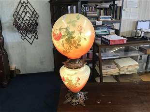 Bradley and Hubbard Gone with Wind Lamp
